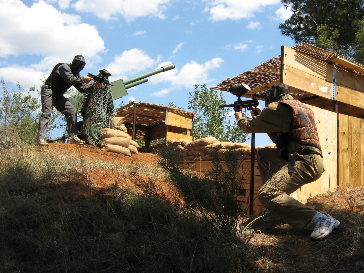 Campo Paintball-Valencia
