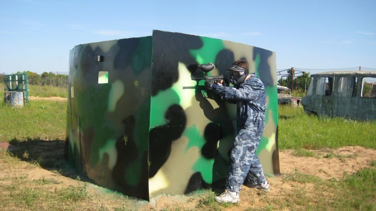 Campo Palacio del paintball