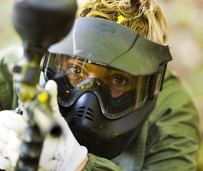 Paintball en TrasgoFronda, Oviedo