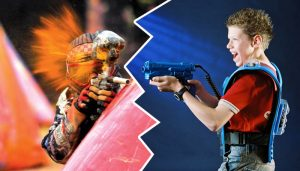 Comparativa entre paintball y Laser Game